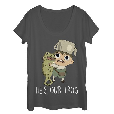 Women's Over the Garden Wall He's Our Frog Scoop Neck