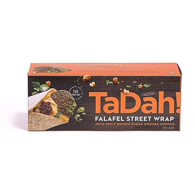TaDah! Vegan Frozen Harissa Hummus Falafel Wrap - 7.5oz