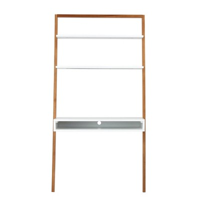 Ladder Desk With Shelves Target, Ladder Shelf Storage Desk
