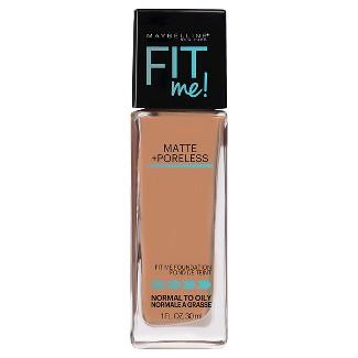 Maybelline® FIT ME!® Matte + Poreless Foundation - 320 Natural Tan