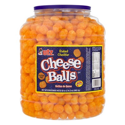 Utz Cheese Balls Barrel - 23oz