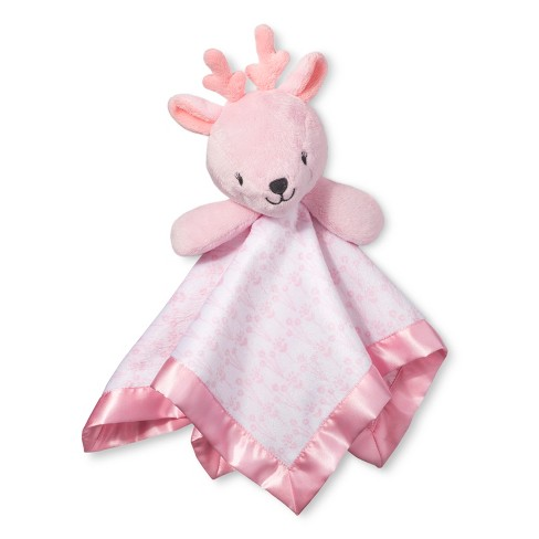 Small Security Blanket Deer - Cloud Island™ Light Pink - image 1 of 1
