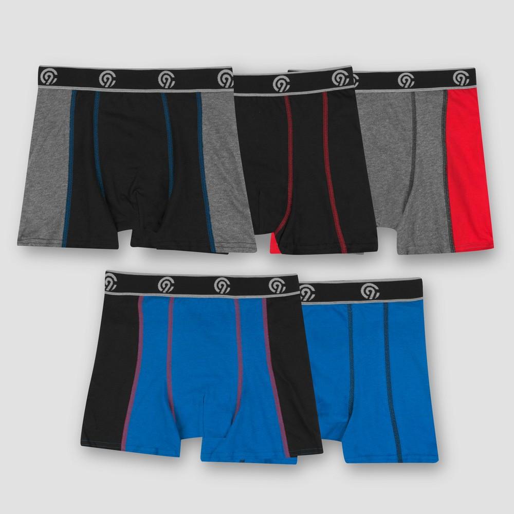 Boys' 5pk Pieced Boxer Briefs - C9 Champion L, Multicolored