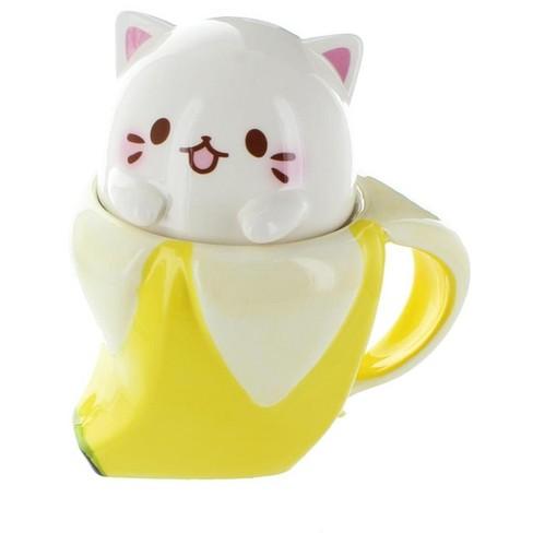 Just Funky Bananya 14oz Ceramic Molded Mug - image 1 of 4