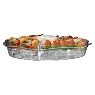 Appetizers on Ice, serving trays