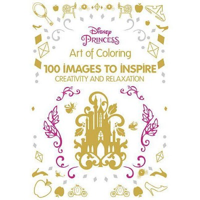 - Disney Princess Adult Coloring Book: 100 Images To Inspire Creativity And  Relaxation By Enterprises Inc. Disney (Hardcover) : Target