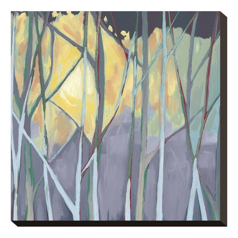Tangled Twilight I Stretched Canvas Print 15x15 - Art.com, Multicolored