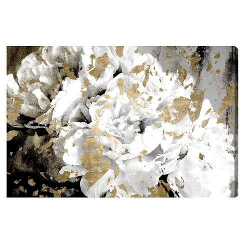 """Oliver Gal Unframed Wall """"Petals in the Wind"""" Canvas Art (36x24) - image 1 of 2"""