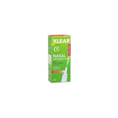 Xlear 12 Hour Nasal Decongestant Spray - Oxymetazoline Hydrochloride - 0.5 fl oz