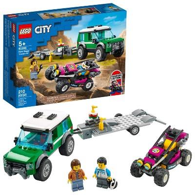 LEGO City Race Buggy Transporter Building Kit 60288