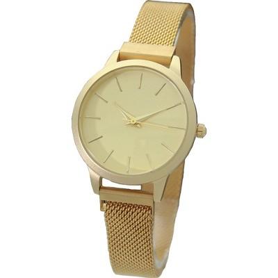 Olivia Pratt Small Face Modern Mesh Strap Watch