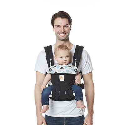 Ergobaby 360 All Carry Positions Ergonomic Baby Carrier - Triple Triangles