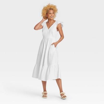 Women's Ruffle Tank Dress - Universal Thread™