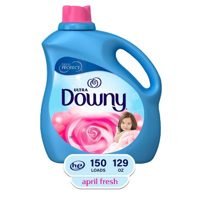 Ultra Downy April Fresh Liquid Fabric Conditioner - 129 fl oz