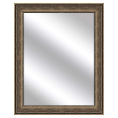 Decorative Wall Mirror PTM Images Silver Gray - image 1 of 1