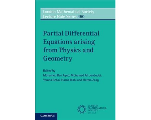 Partial Differential Equations Arising from Physics and Geometry -  (Paperback) - image 1 of 1