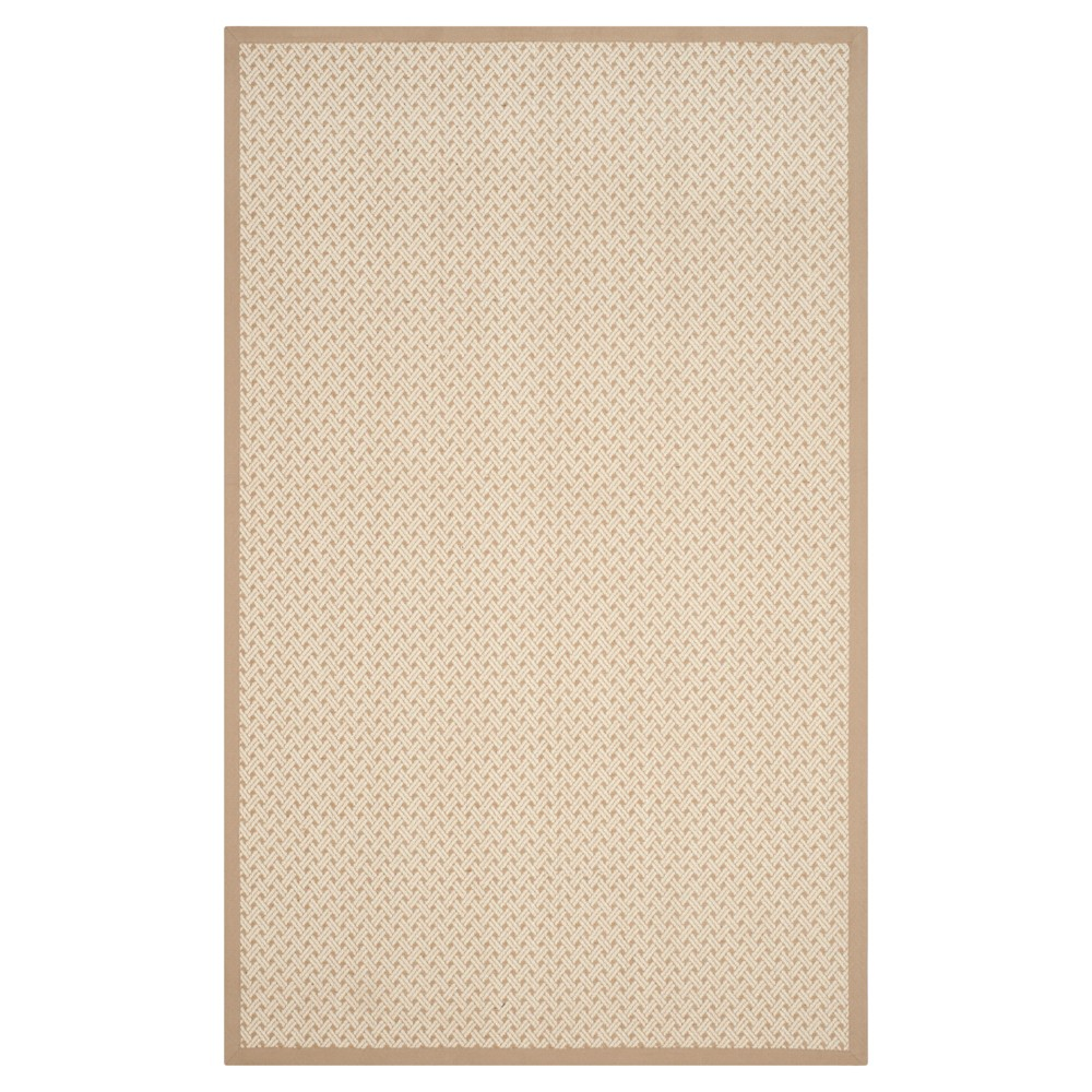 Ivory/Natural Classic Woven Area Rug - (9'X12') - Safavieh, White