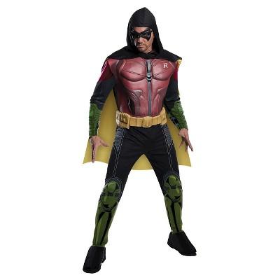 Adult DC Comics Robin Arkham Halloween Costume
