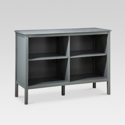 Windham 31.3  Horizontal Bookcase - Gray - Threshold™
