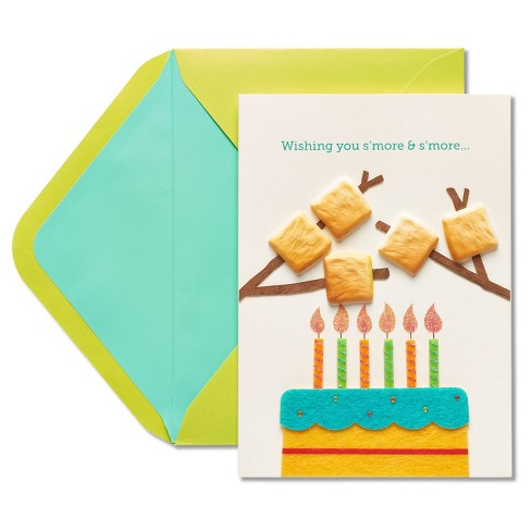 Papyrus S'more Birthday Card - image 1 of 4