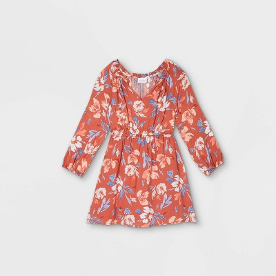 Maternity Floral Print 3/4 Sleeve Woven Blouse - Isabel Maternity by Ingrid & Isabel™ Light Red