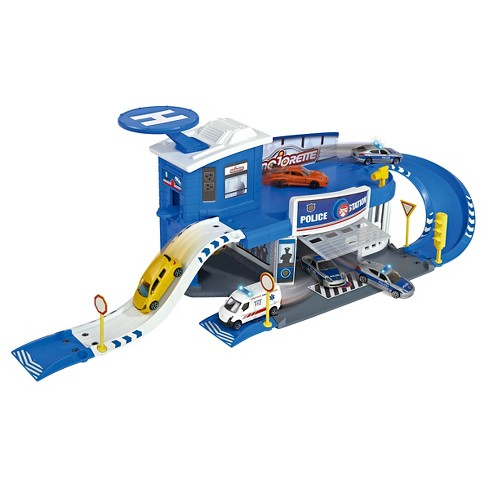 Dickie Toys Majorette Creatix Police Station - image 1 of 6