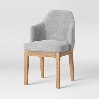 Kinston Curved Back Upholstered Dining Chair - Threshold™