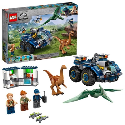 LEGO Jurassic World Gallimimus and Pteranodon Breakout Fun Dinosaur Toy for Kids 75940