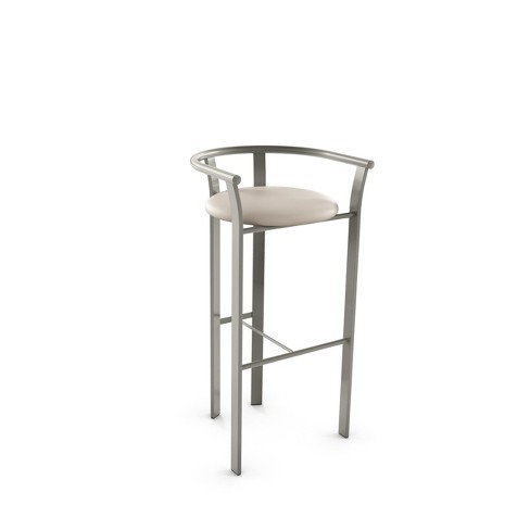 """Amisco Lolo 30"""" Bar Stool with Upholstered Seat - image 1 of 2"""