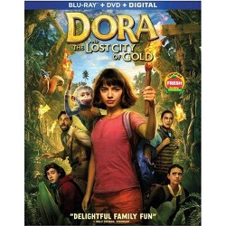 Dora And The Lost City Of Gold (Blu-Ray + DVD + Digital)