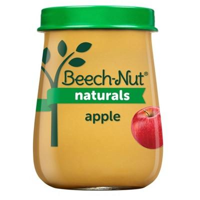 Beech-Nut Naturals Apples Baby Food Jar - 4oz