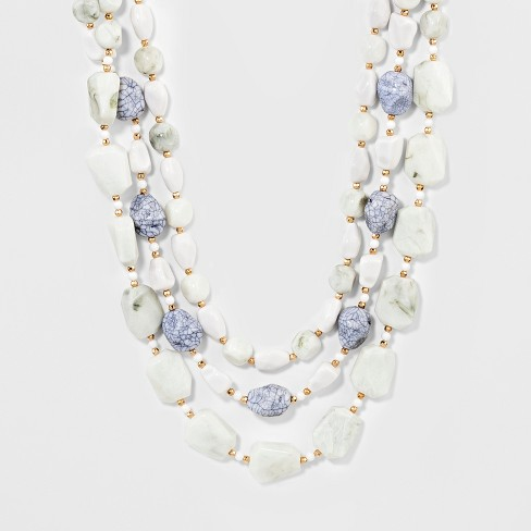SUGARFIX by BaubleBar Beaded Statement Necklace - image 1 of 3
