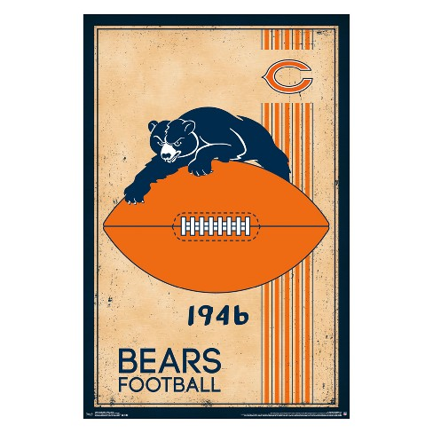 NFL Retro Logo Unframed Wall Poster - image 1 of 2