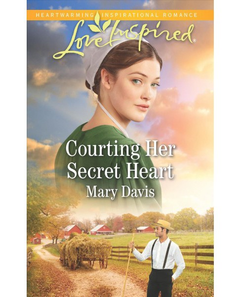 Courting Her Secret Heart -  (Love Inspired) by Mary Davis (Paperback) - image 1 of 1