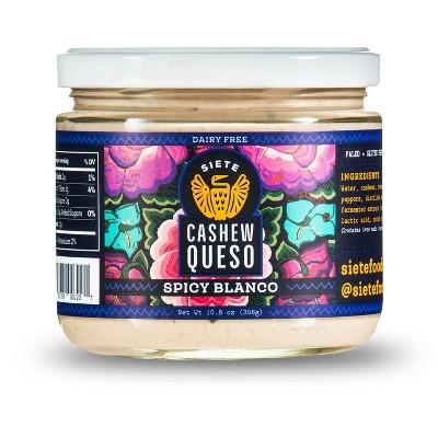 Siete Cashew Queso Spicy Blanco Dip - 10.8oz