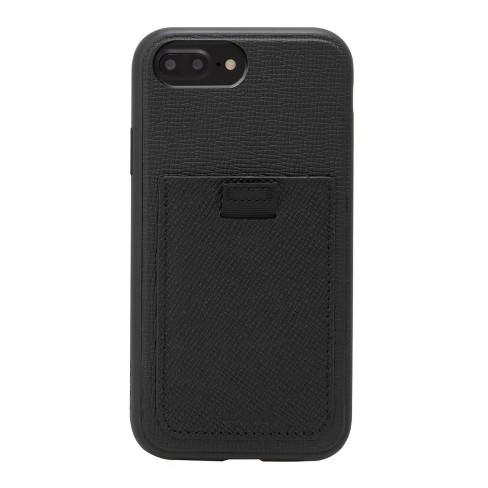 Bondir Apple iPhone 8 Plus/7 Plus/6s Plus/6 Plus Leather Wallet Case - Black - image 1 of 3