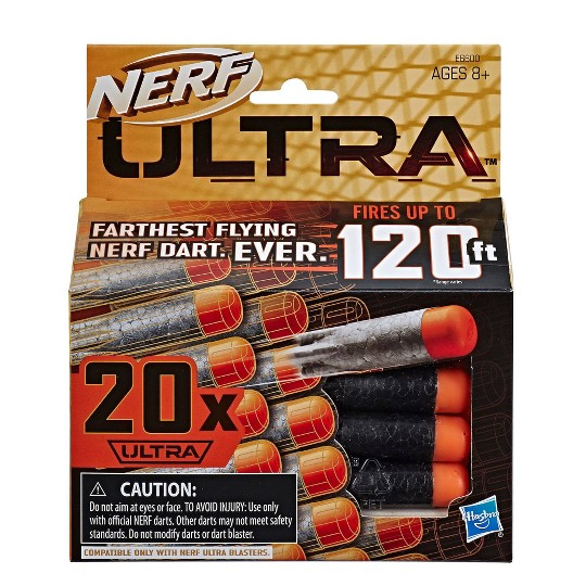 NERF Ultra 20 Dart Refill image number null