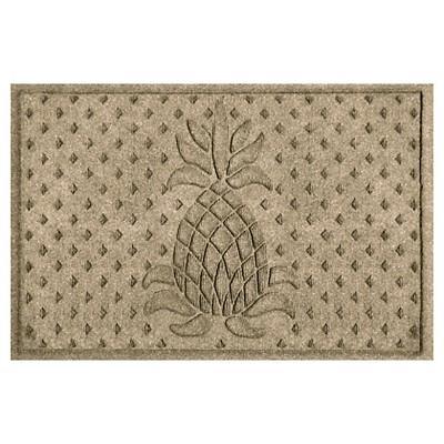 Camel Solid Pressed Doormat - (2'x3') - Bungalow Flooring