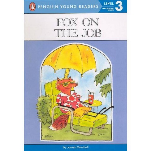 Fox on the Job - (Puffin Easy-To-Read: Level 3) by  James Marshall (Hardcover) - image 1 of 1