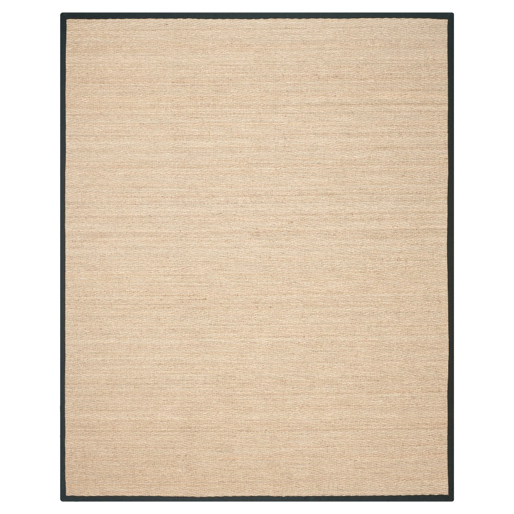 Natural Fiber Rug - Natural/Black - (10'x14') - Safavieh