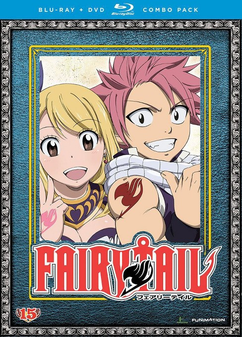 Fairy tail:Part 15 (Blu-ray) - image 1 of 1