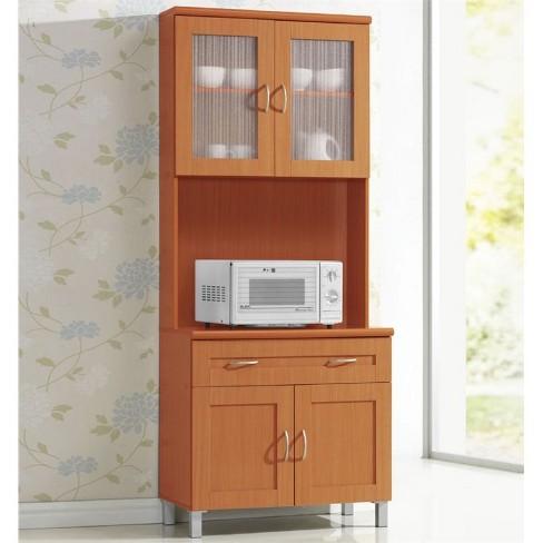 Kitchen Cabinet in Cherry - Hodedah