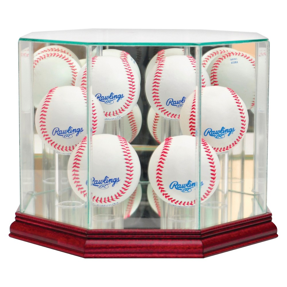 Perfect Cases 6 Baseball Display Case, Clear