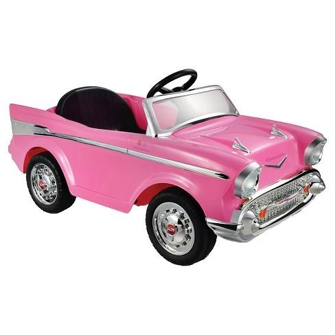 Kid Motorz 12V Chevrolet Bel Air - Pink - image 1 of 3