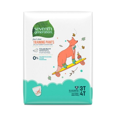 Seventh Generation Free & Clear Training Pants - (Select Size and Count)