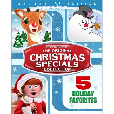 The Original Christmas Specials Collection (The Grinch Fandango Cash)(Blu-Ray)