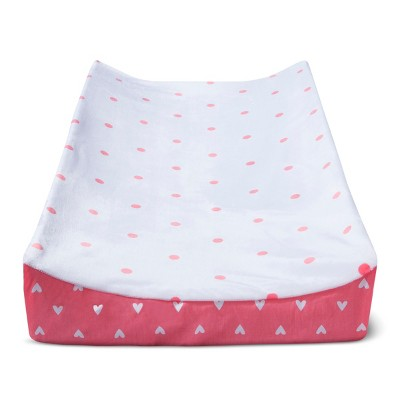 Plush Changing Pad Cover Dots - Cloud Island™ - Pink
