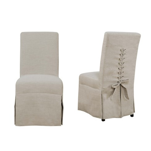 Miraculous Set Of 2 Hayden Dining Room Parsons Chair Natural Picket House Furnishings Ibusinesslaw Wood Chair Design Ideas Ibusinesslaworg