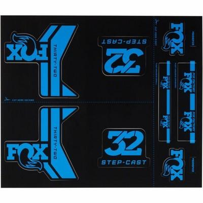 FOX Step Cast Decal Kit Sticker/Decal