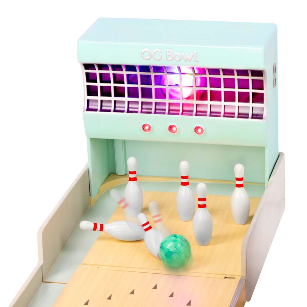 Our Generation Let It Roll - Retro Bowling Alley Set for 18 Dolls